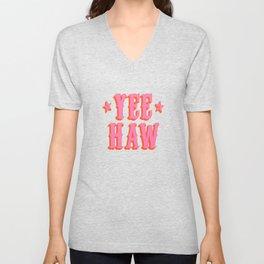 Yee Haw Unisex V-Neck