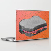 fat Laptop & iPad Skins featuring Fat Sandwich by Calepotts