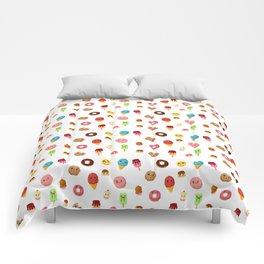 Kawaii food Comforters
