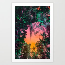 Welcome to the Jungle Art Print