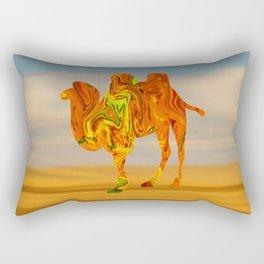Marble Animals - Camel Rectangular Pillow