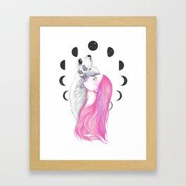 Moon Daze Framed Art Print