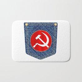 Russian Denim Pocket Bath Mat