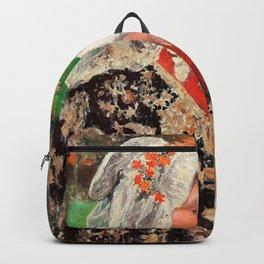The Young Mother - Julius Garibaldi Melchers Backpack