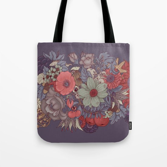 the wild side - dusty tones Tote Bag