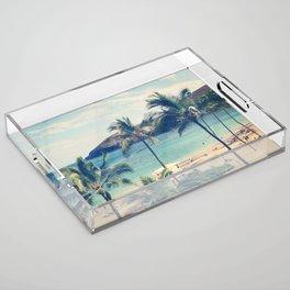 Hanauma Bay Acrylic Tray