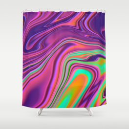 EXPIRED MILK Shower Curtain