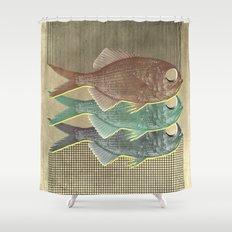 feeling selfish to sell fish Shower Curtain