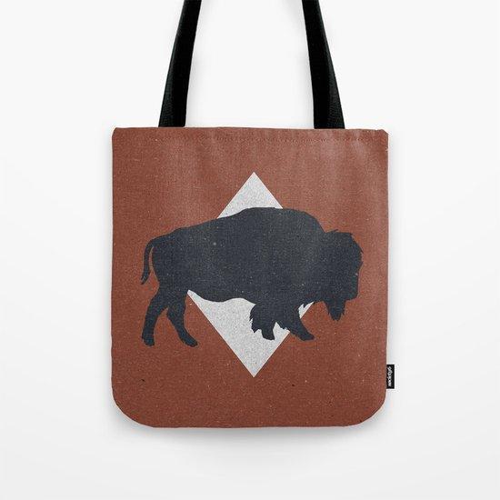 Bison & Blue Tote Bag