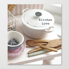 Kitchen Love Canvas Print