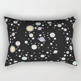 Never Know Rectangular Pillow