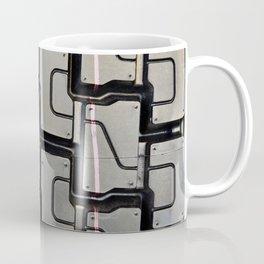 Tread pattern on truck tire Coffee Mug
