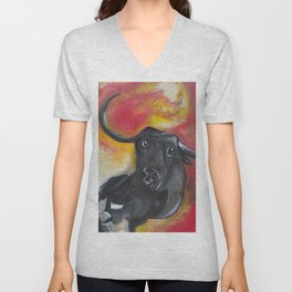 The Bull Inside Me Unisex V-Neck