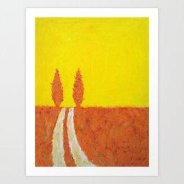 Open Road I Art Print