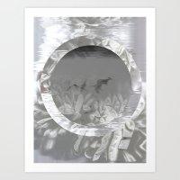 MINIMAL X GRUNGE II  Art Print