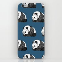 pandas iPhone & iPod Skins featuring Pandas by Diana Hope