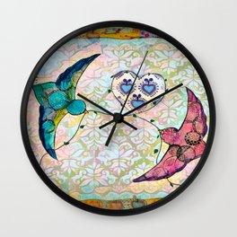 Love Birds 2 Wall Clock
