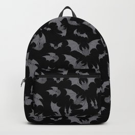 Bats Black Backpack