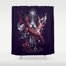 Final Trick Shower Curtain