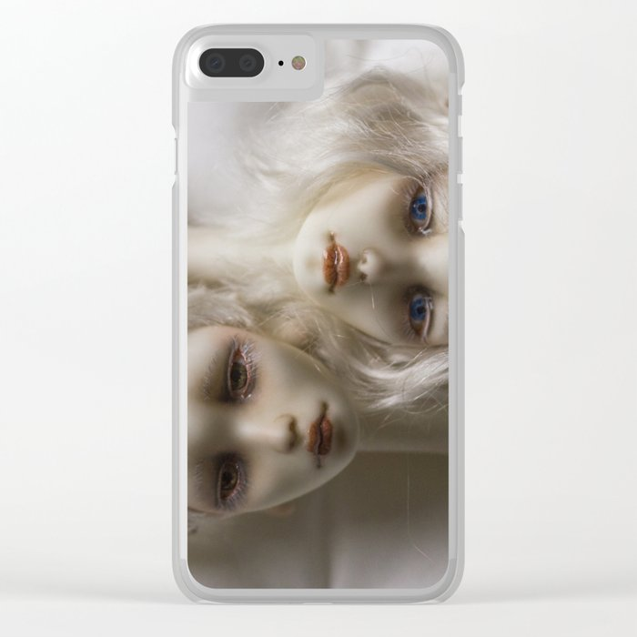 We are more similar than different Clear iPhone Case