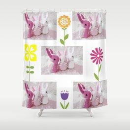 Little Bunny Foo Foos Shower Curtain