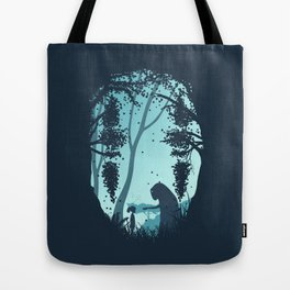 Lonely Spirit Spirited Away Tote Bag