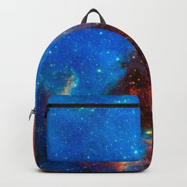 Look Up And Get Lost, Galaxy Background, Universe Large Print, Space Wall Art Decor, Deep Space Backpack