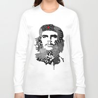 che Long Sleeve T-shirts featuring CHE by Rebecca Bear