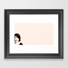 ♡ Natalie Wood ♡ Framed Art Print