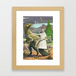 IguanoDonJuan Framed Art Print
