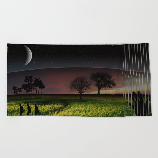 Lily Dream Beach Towel