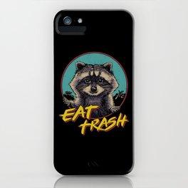 Eat Trash iPhone Case