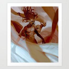 Sentries Art Print