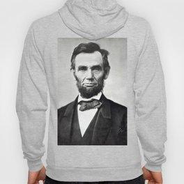 Vintage Abraham Lincoln Portrait Hoody