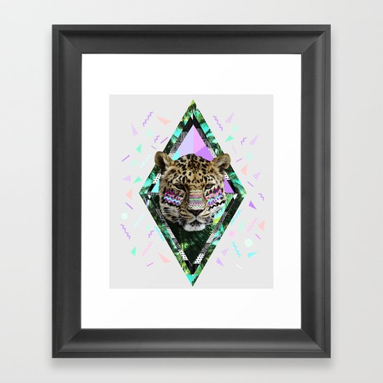 ▲SAFARI WAVES▲ Framed Art Print