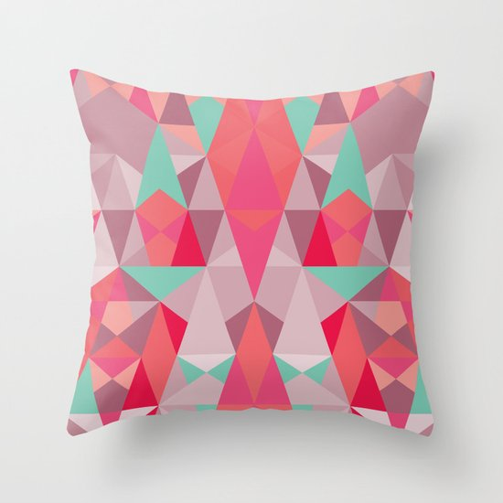 Simply II Throw Pillow