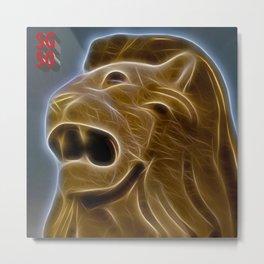 SG 50 Lion Metal Print