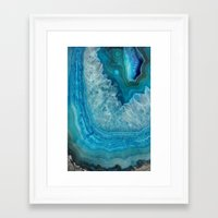 agate Framed Art Prints featuring Agate by lescapricesdefilles