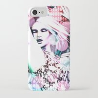 rave iPhone & iPod Cases featuring Rave by Vaia