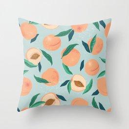 Peach or apricot  Throw Pillow