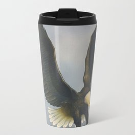 American Bald Eagle Travel Mug