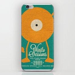 VINILO SESSIONS iPhone Skin