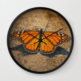 MONARCH OF ALL HE SURVEYS Wall Clock