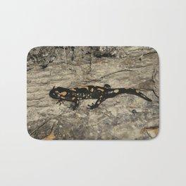 The fire salamander Bath Mat