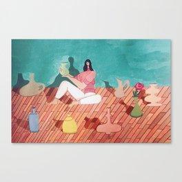 Amongst Friends Canvas Print