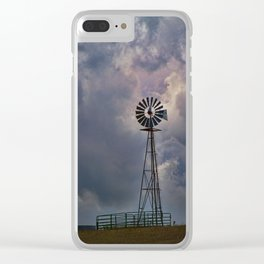 Wind and Weather Clear iPhone Case