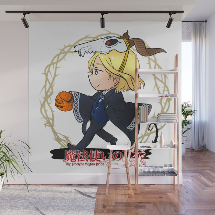 Elias Ainsworth Chibi Halloween Wall Mural by alienitynera Society6
