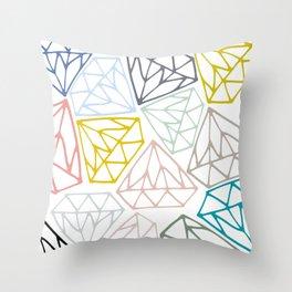 14 Carats Throw Pillow