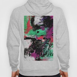 Jazzy Emotions No.1L by Kathy Morton Stanion Hoody