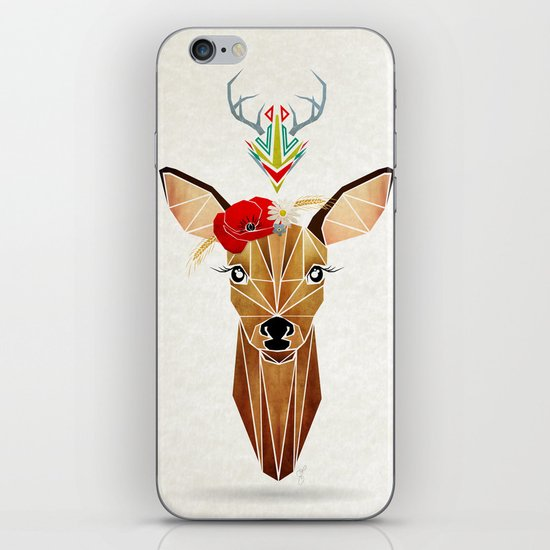 biche oh ma biche ! iPhone & iPod Skin
